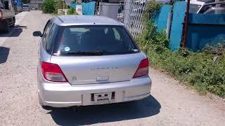 Видео-тест автомобиля Subaru Impreza (серебро, GG2-007869, Ej152, 2000г.)
