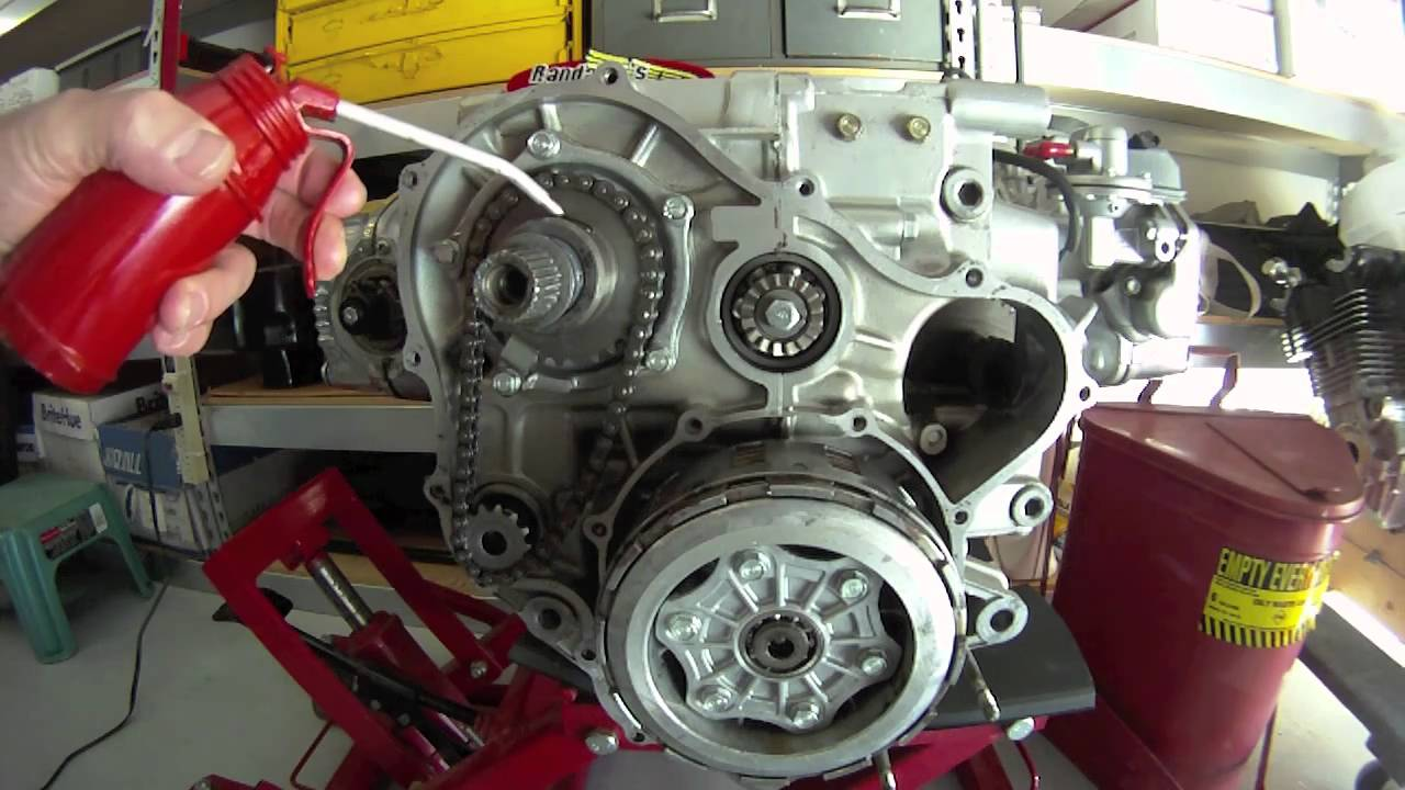 honda gl1000 starter clutch repair details by randakk youtube rh youtube com