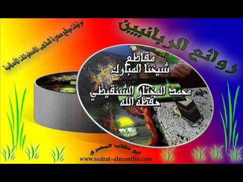 في رمضان تصفد الشياطين ومردة الجن الشيخ الشنقيطي Youtube