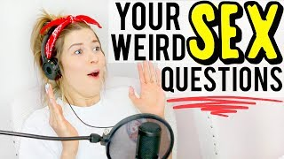ANSWERING WEIRD SEX QUESTIONS: WARNING EXPLICIT   Don't Blame Me w/ Meghan Rienks