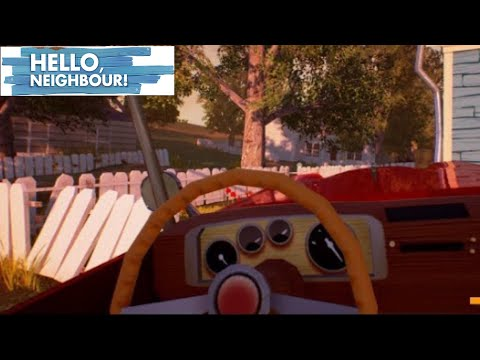 How to drive the car in hello neighbor (read discreption)