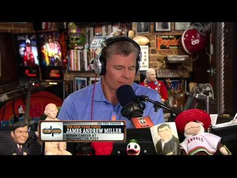 James Andrew Miller on the Dan Patrick Show 8/23/13