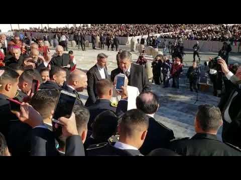 Egresados de la escuela de oficiales de la Policía de E. Ríos fueron recibidos por el papa Francisco