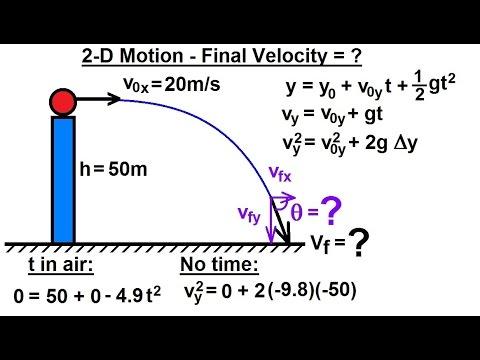 physics mechanics projectile motion 27 of 31 2d