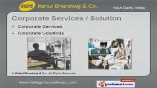 Corporate Solutions by Rahul Bhardwaj & Co., New Delhi