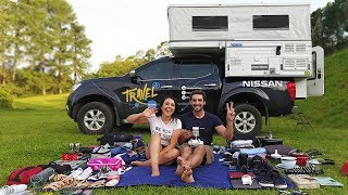 TIREI TUDO do MOTORHOME | Travel and Share | Romulo e Mirella