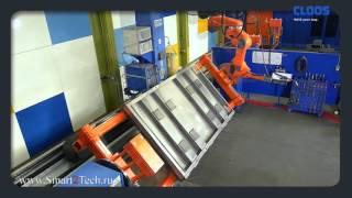 Высокопроизводительный сварочный процесс Speed Weld для сварочных роботов CLOOS(Подробнее о сварочном процессе здесь: http://www.smart2tech.ru/svarochnyj-protsess-speed-weld Система состоит из двух станций и..., 2016-05-09T12:21:45.000Z)