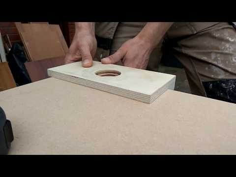 How To Cut  Hinges With A Router