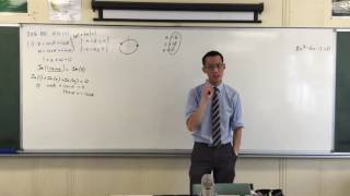 2016 HSC - Complex Numbers on Unit Circle (1 of 2: Considering Re & Im Parts)