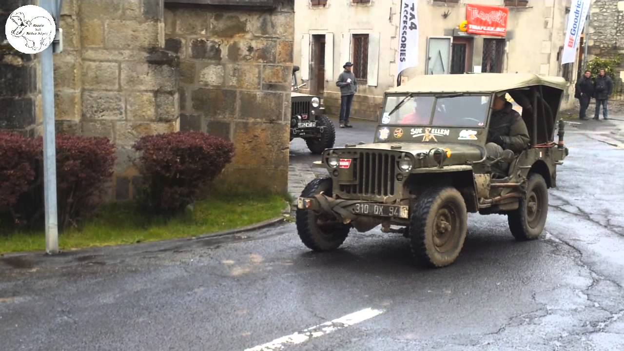chambon sur jeep 2014 d part convoi willys youtube. Black Bedroom Furniture Sets. Home Design Ideas