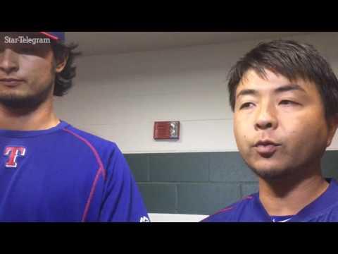 Rangers Yu Darvish, Jeff Banister discuss the right-handers Sunday start