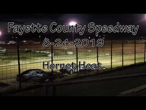 Fayette County Speedway Hornet Heat August 28 2019