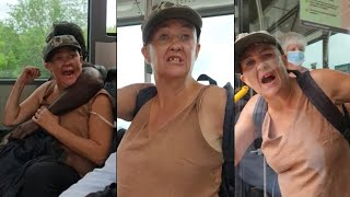 Drunk Karen Starts Trouble On A Public Bus + Bonus