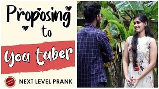 Proposing To Youtuber | Latest Telugu Pranks | Prank Boy | Ajay Pothamsetty