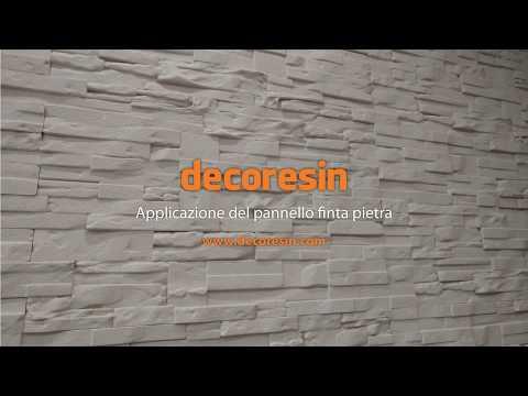 Applicazioni Dei Pannelli In Polistirolo Finta Pietra Youtube