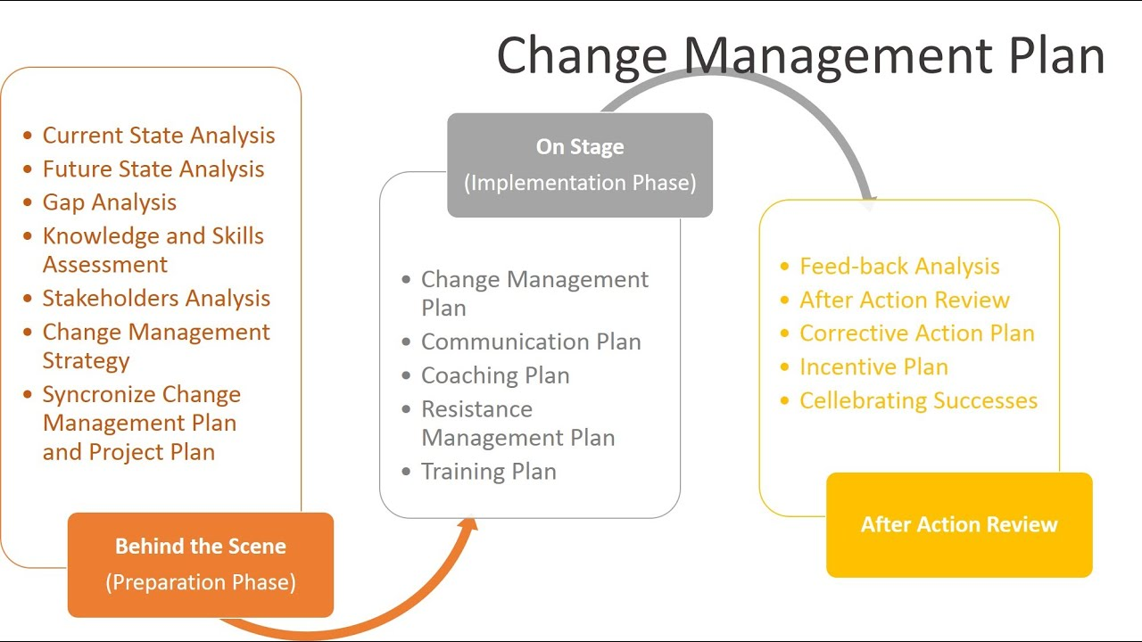 Change management strategy report