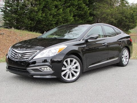 2015 Hyundai Azera Limited Start Up, Road Test, and In Depth Review