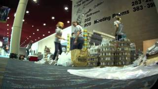 """Parish in Style"" Blitch Knevel Architects - Canstruction 2012 New Orleans"