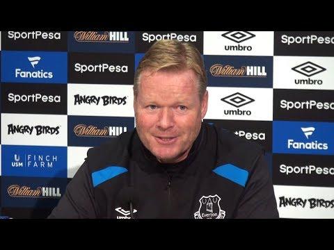 Ronald Koeman Full Pre-Match Press Conference - Brighton v Everton - Premier League
