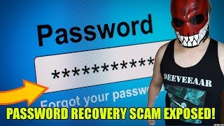 New Password Recovery Scam EXPOSED! thumbnail