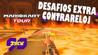 Mario Kart Tour - Copa Bebé Peach - Desafíos Extra Contrareloj - Bebé Peach - ZACK90