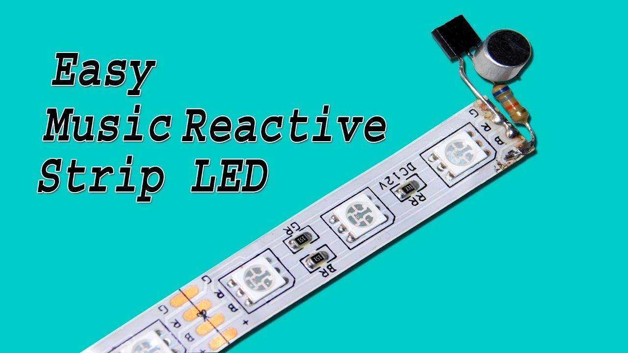 Music Reactive LED Strip Make Very Easy
