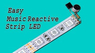 Music Reactive LED Strip Make Very Easy