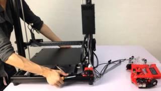 assembly video of formbot t rex 3d printer