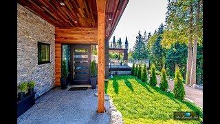 Ultra-Modern $4 Million 3 Level 5 Bed 5 Bath Luxury Home in Belcarra B.C. Canada