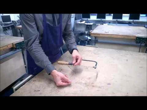 How to replace a coping saw blade youtube how to replace a coping saw blade greentooth Gallery