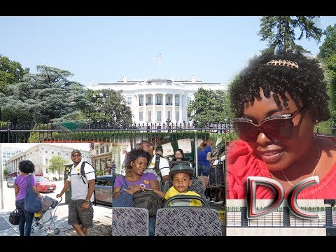 The White House | Washington DC | Bus Tour | Travel Vlog