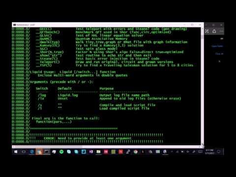Dave Wecker: Software Demo: Microsoft LIQUiD