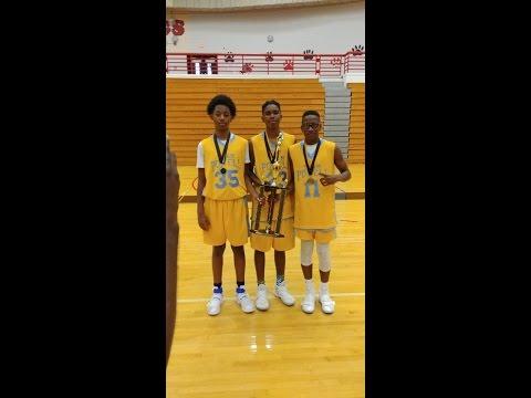 2017 Peach State Invitational 7th grade Championship Game part 1