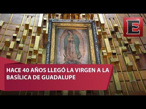 Así fue el traslado de la Virgen de Guadalupe a la nueva Basílica