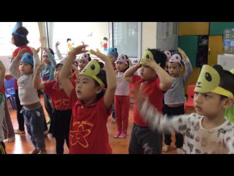 Hoạt động âm nhạc lớp S5 Trường mầm non ngôi sao xinh