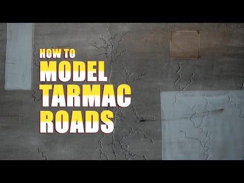 How to Model Tarmac Roads