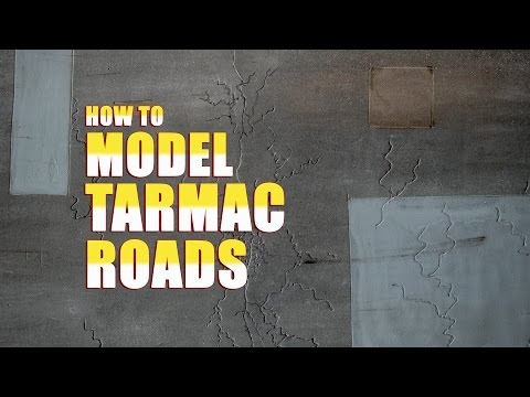 How to Model Tarmac Roads