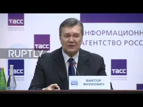 Russia: Signing EU-Ukraine deal could have been 'worst thing to do' – Yanukovych