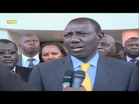DP Ruto Condoles With Families Of Ivory Coast Attack