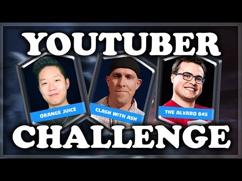 YouTuber Challenge  My Deck?  Clash Royale 🍊