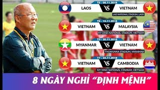 Lịch thi đấu AFF Cup 2018: Như một sự sắp đặt trước trận gặp Malaysia
