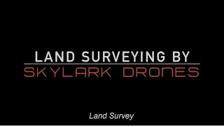 Drone Survey and Mapping | India
