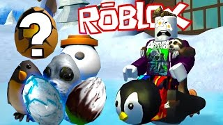 QUEST PARA ENCONTRAR TODOS LOS HUEVOS DE PASCUA OCULTOS! ¡A ANTARTICA! - Roblox The Lost Egg Hunt 2017 Funny Moments