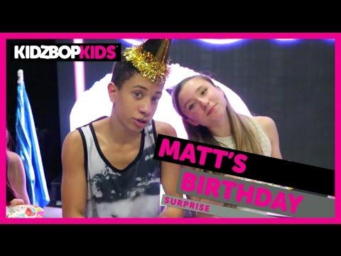 KIDZ BOP Kids - Matt's Birthday Surprise