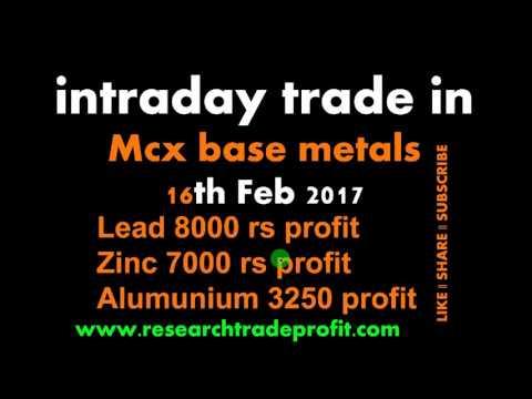 16th lead zinc aluminum live trade