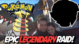 FIRST GIRATINA AND SPIRITOMB! SHINY?! Pokemon Go Halloween Event IRL! Epic Family Vlog!