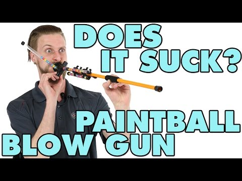 Does it suck? - Paintball Blow Gun Ep. 1