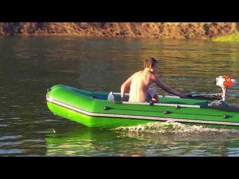 лодочный мотор карвер 3.8 тест драйв видео