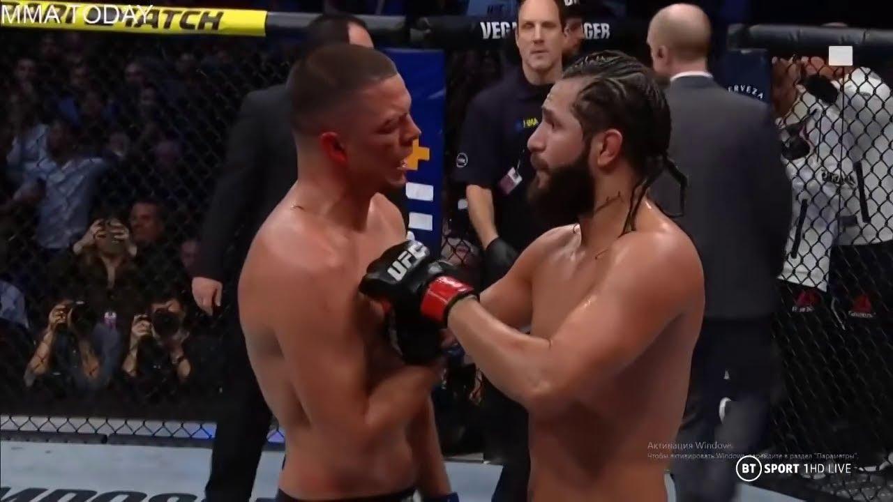 Nate Diaz vs Jorge Masvidal Full Fight