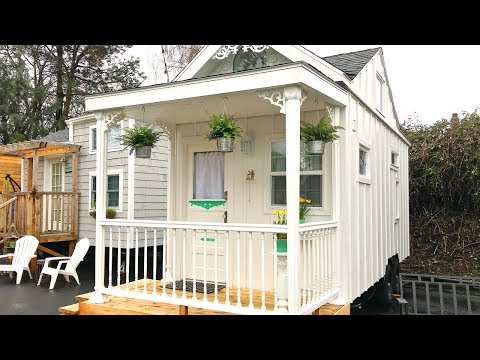 Beautiful Modern The White Cottage Tiny House | Lovely Tiny House